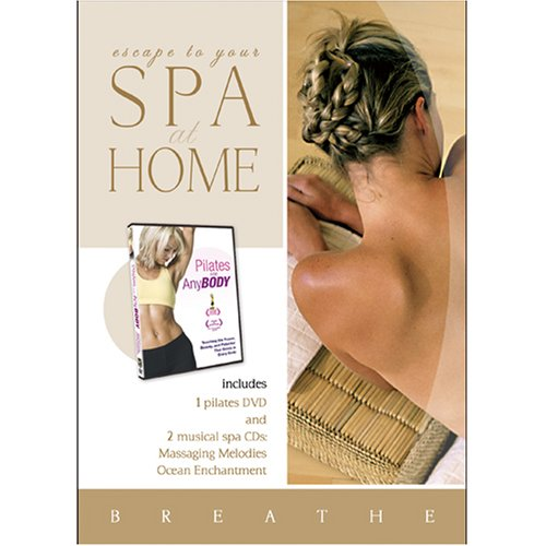 Spa at Home: Pilates for Any Body DVD with 2 CDs -