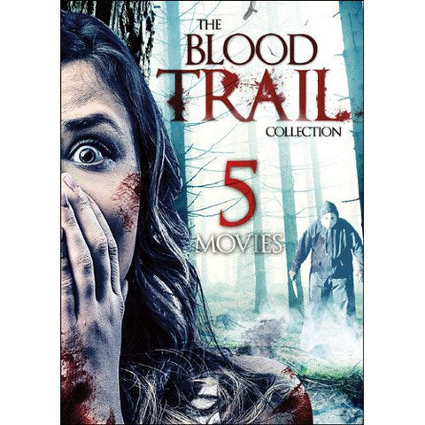 5-Movie Blood Trail Collection DVD Richard Anderson, Lee Perkins - Brand New
