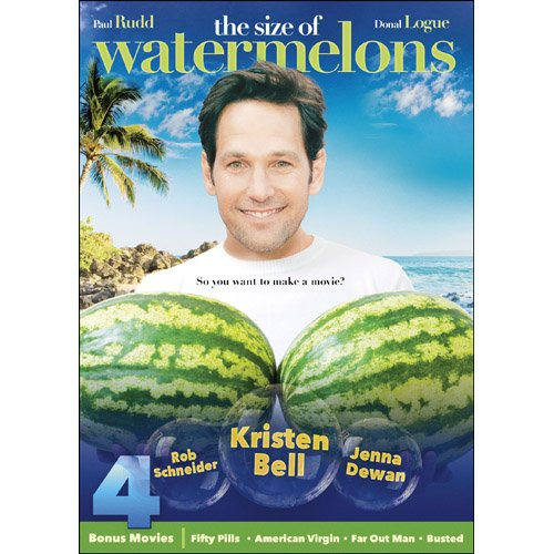 The Size of Watermelons DVD Paul Rudd, Donal Logue -
