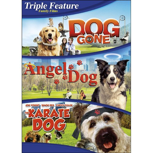 Triple Feature: Dog Gone/Angel Dog/The Karate Dog DVD -