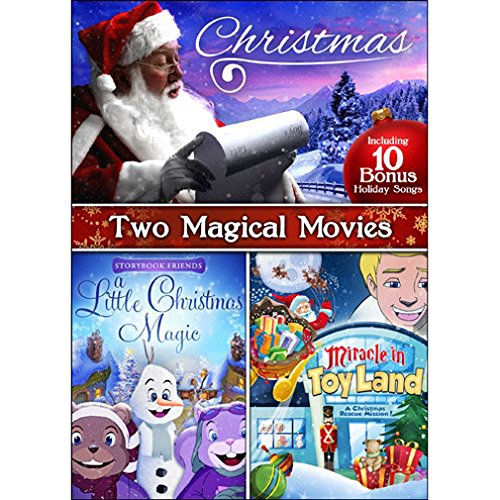 Miracle in Toyland / A Little Christmas Magic / 10 Bonus Holiday Songs DVD -