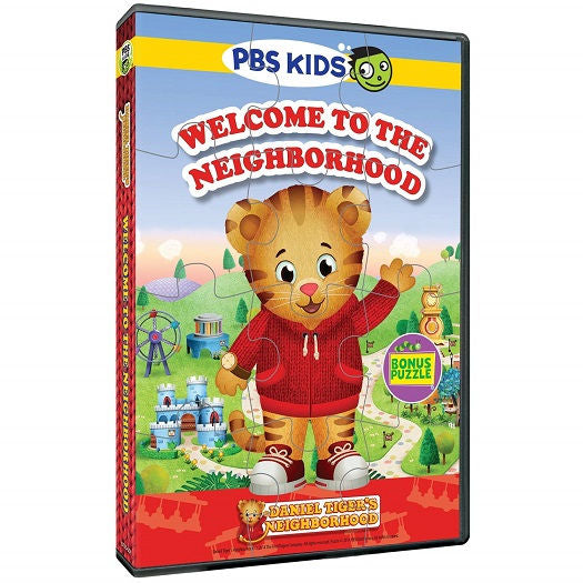 Welcome Neighborhood Puzzle DVD -