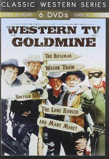 Western TV Goldmine DVD Ann Sheridan, Clayton Moore, Dick Jones -