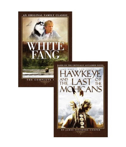 Adventure Collection: White Fang / Hawkeye and The Last Of The Mohicans DVD - Like New