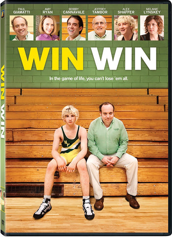 Win Win DVD Paul Giamatti, Amy Ryan - Like New