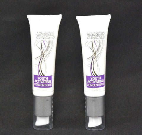 Advanced Clinicals Youth Activating Concentrate, Set of Two (1fl oz each) - New