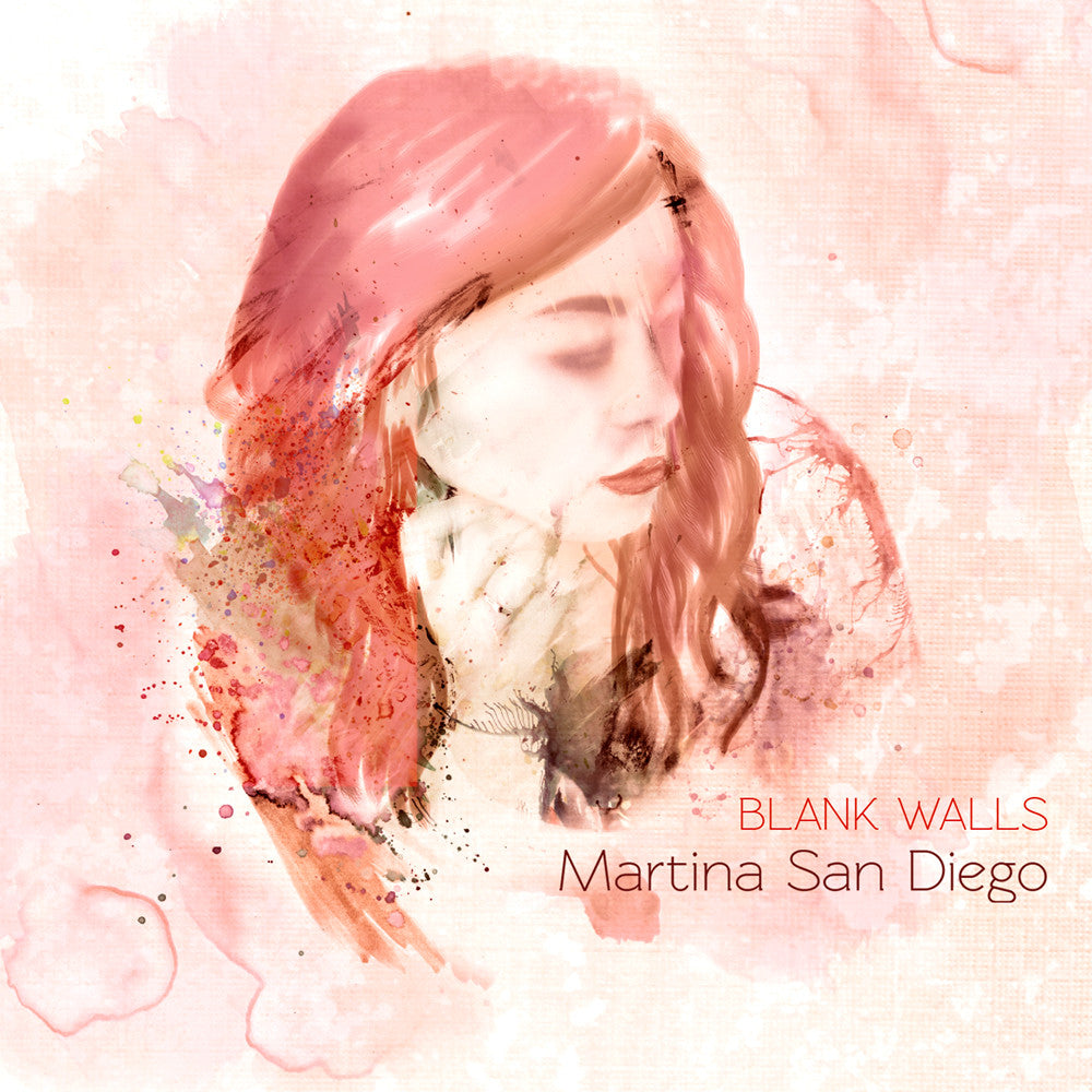 "Martina San Diego ""Blank Walls"" CD"