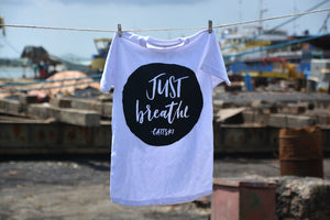 "Cattski ""Just Breathe"" Lyric T-shirt"