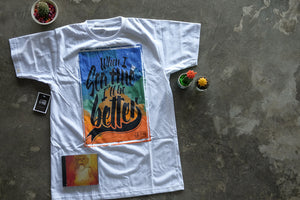 "Cattski CD + ""Sea Hue"" T-Shirt"