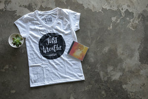 "Cattski CD + ""Just Breathe"" T-Shirt"