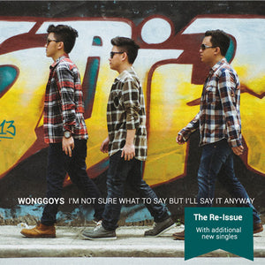 "Wonggoys ""I'm Not Sure What To Say But I'll Say It Anyway"" Re-Issue CD"