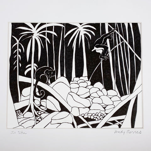 Wendy Barnes Design Pen & Ink Artwork
