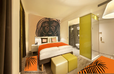 Example of Hotel Room design