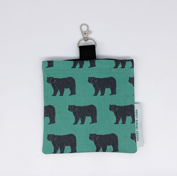 Bear Keychain Bag