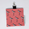 Black-necked Stilt Keychain Bag