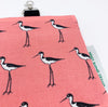 black-necked stilt fabric