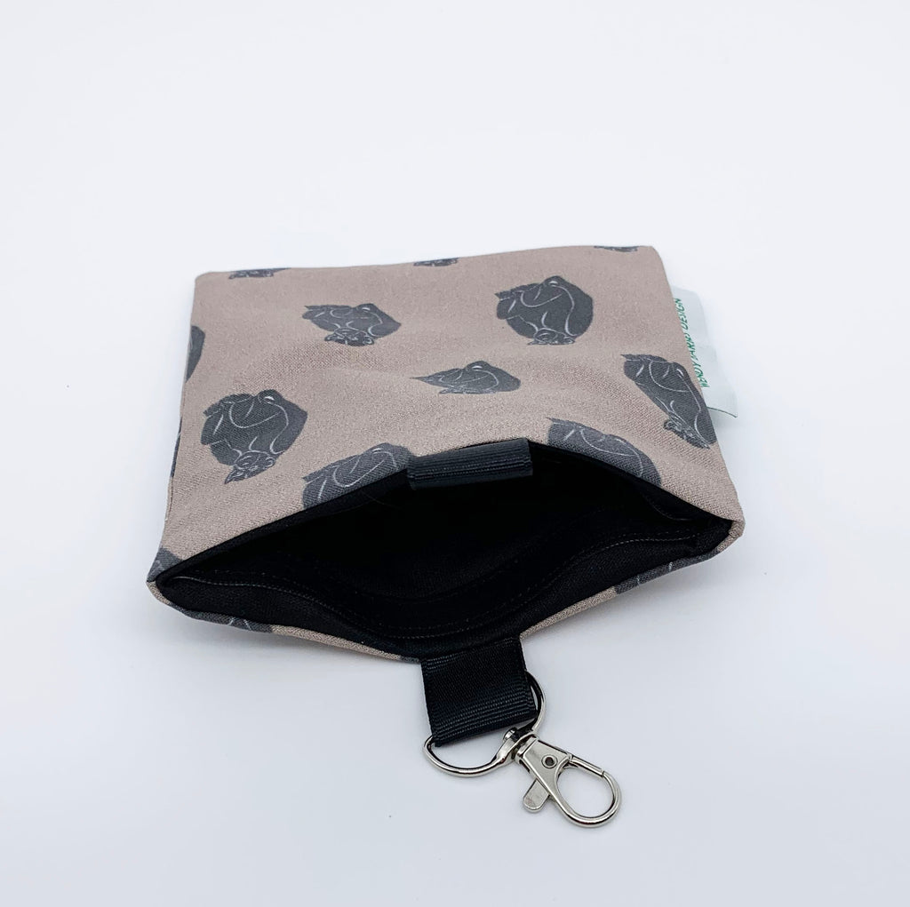 Chimpanzee Keychain Bag