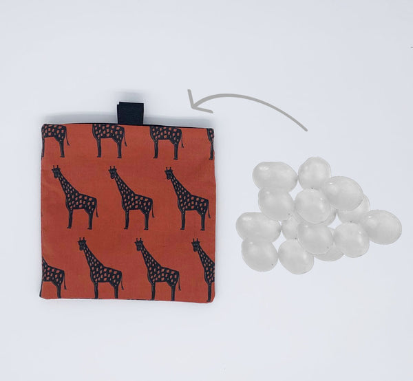 giraffe snack bag