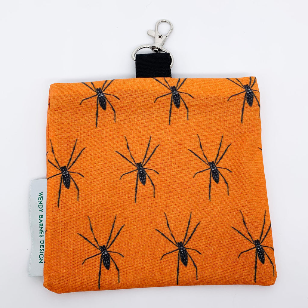 Spider Keychain Bag