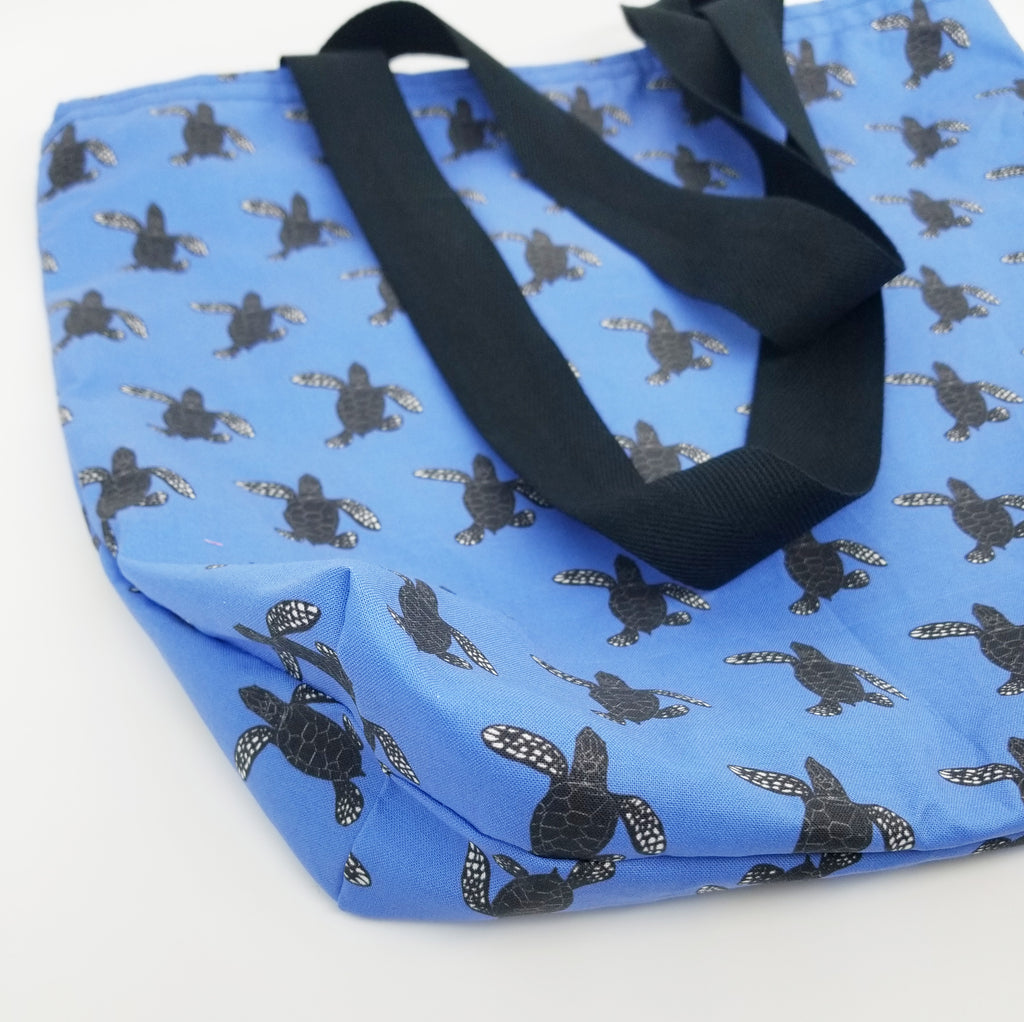 Hatchling sea turtle tote
