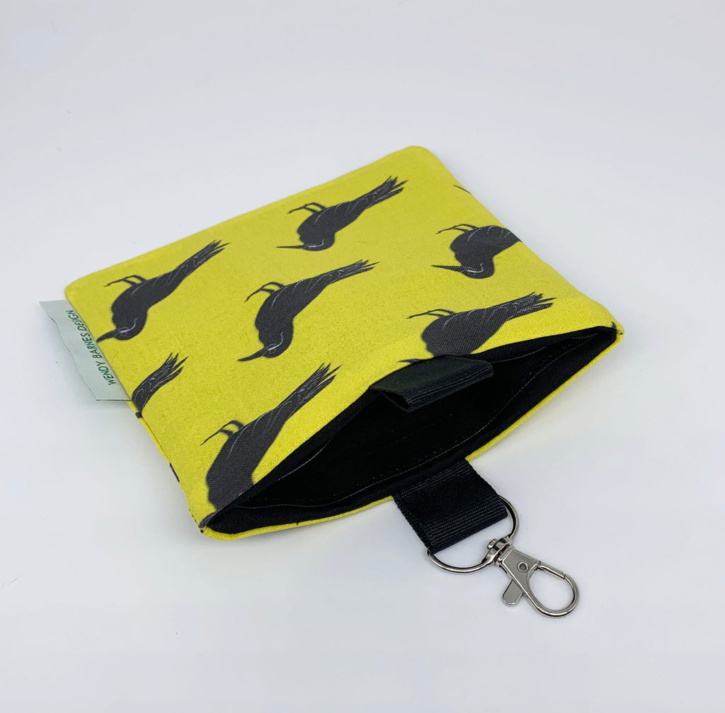 Inca Tern Keychain Bag open