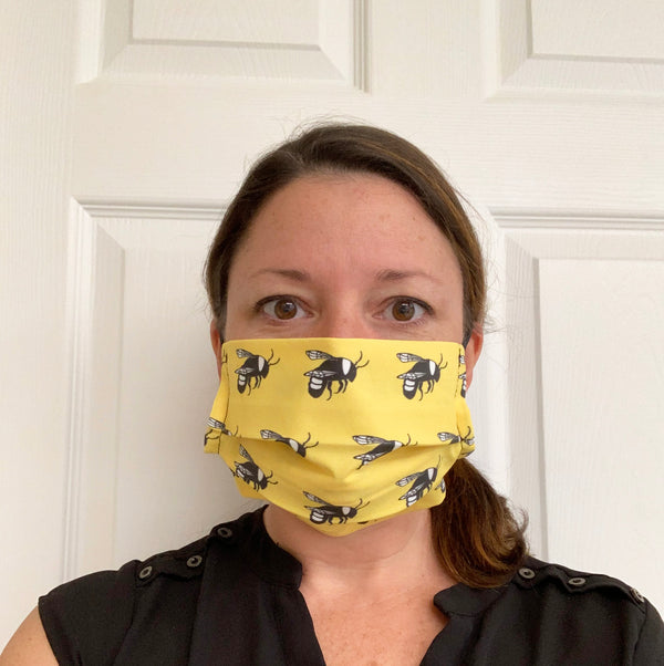 Bumble Bee Face Mask