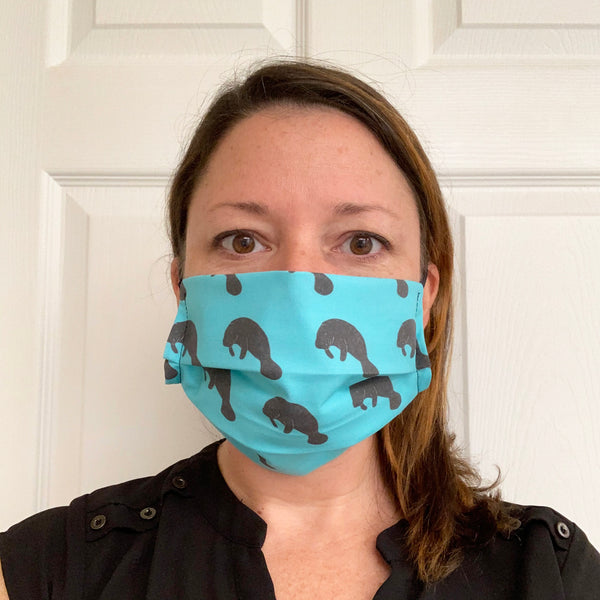 Manatee Face Mask