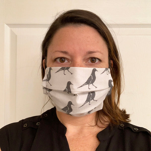 Ring-billed Gull Face Mask for Recycle Brevard