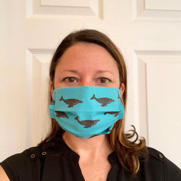 Humpback Whale Face Mask