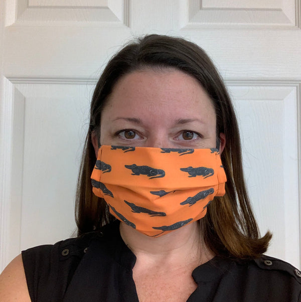 Alligator Face Mask