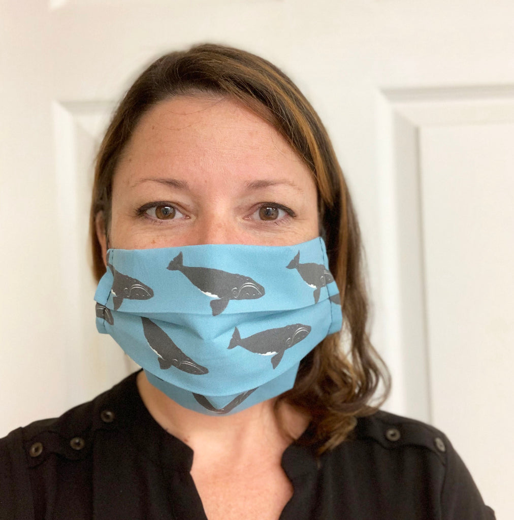 Right Whale Face Mask
