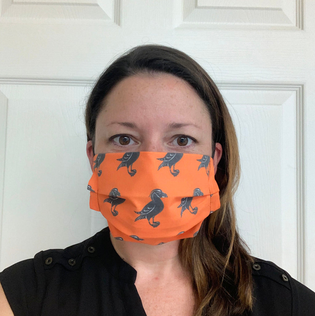 Tufted Puffin Face Mask