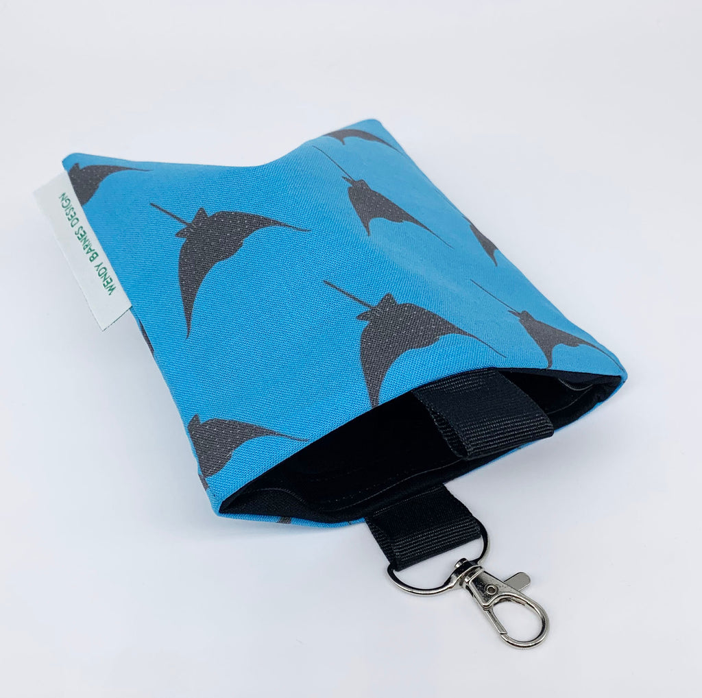 Spotted Eagle Ray Keychain