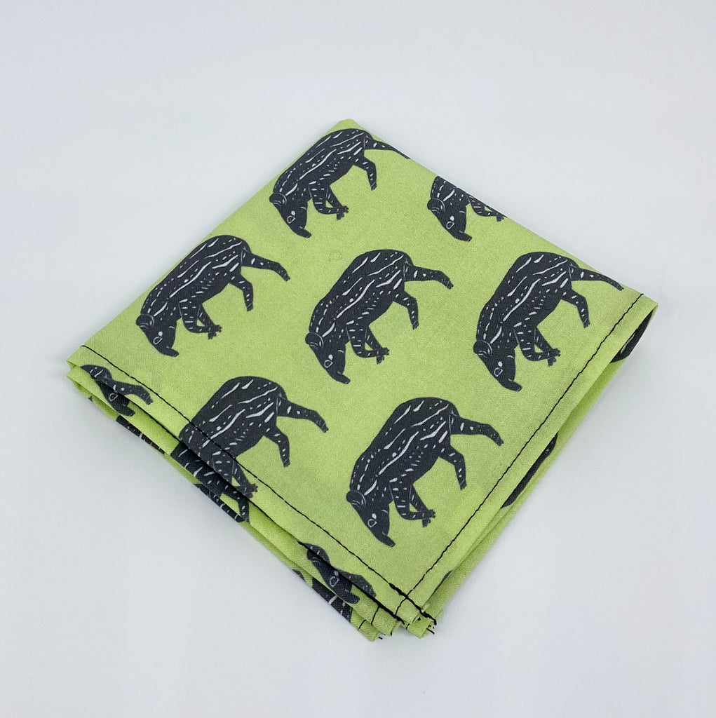Napkins with tapir