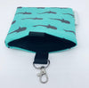 Whale Shark Keychain Bag