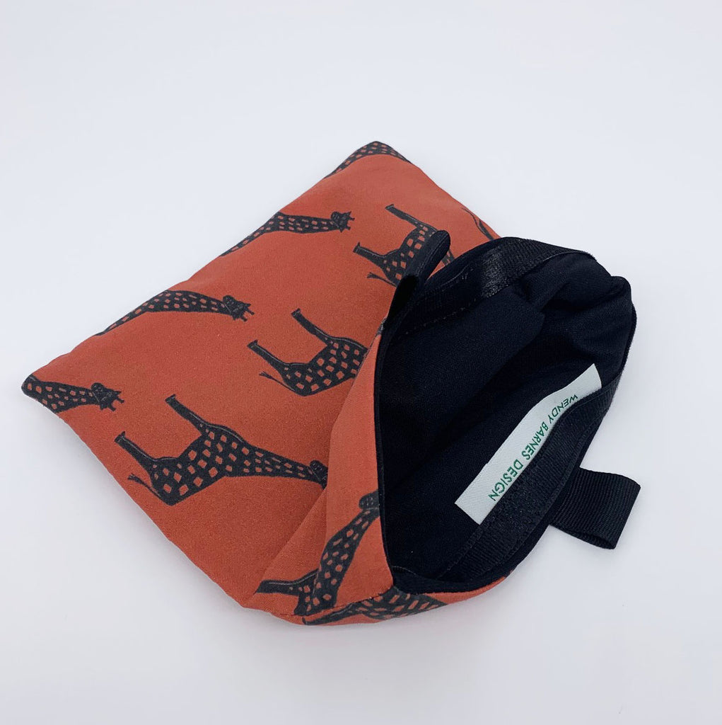 giraffe reusable bag