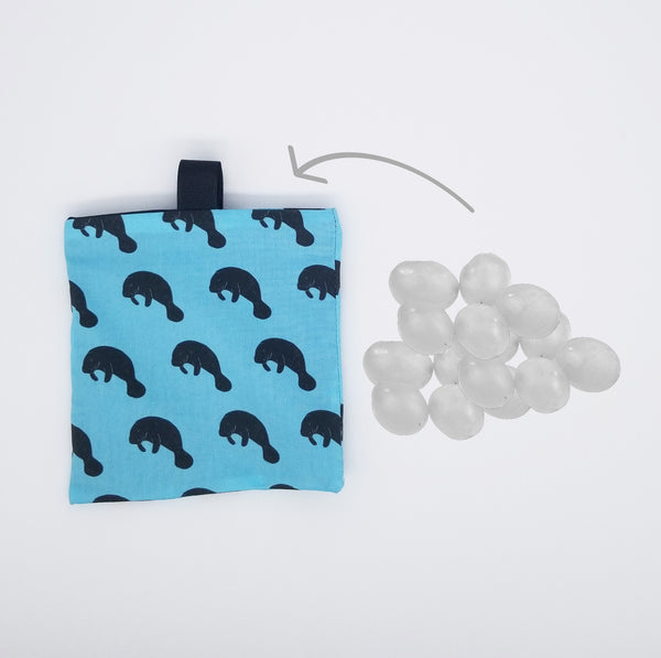 manatee snack bag