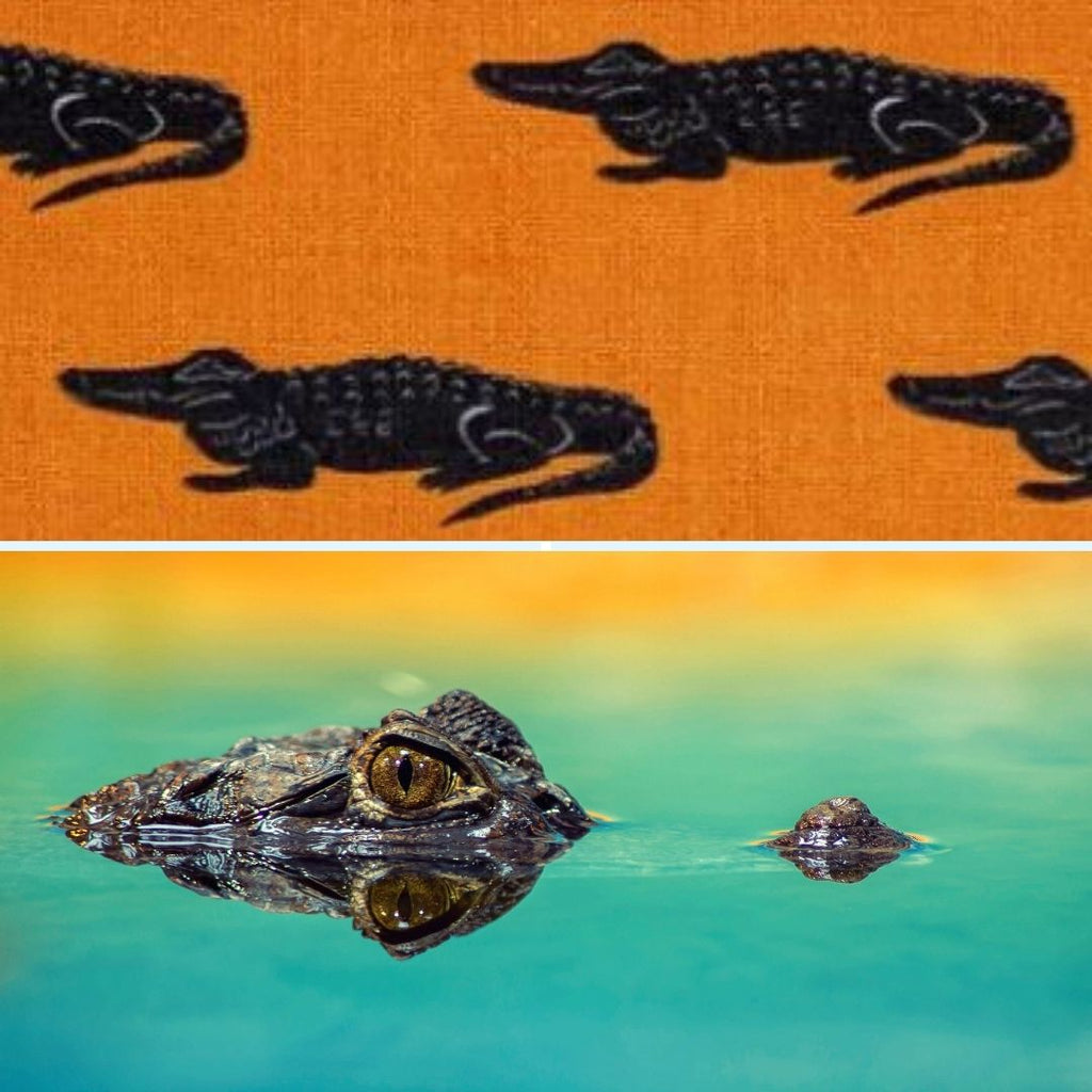 Alligator fabric