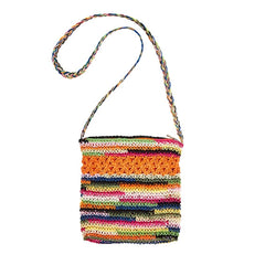 Multi Colored Cross Body Bag