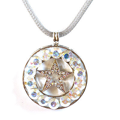 Texas Star Australian Crystal Necklace