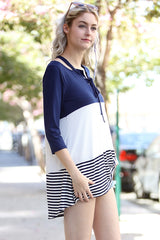Easy Going Striped Top