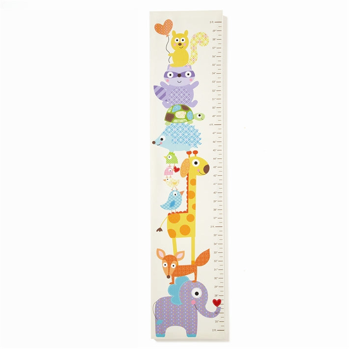 Happi Growth Chart/ Animal Design