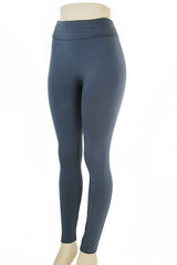 charcoal fleece leggings