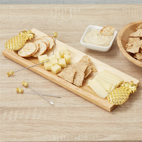 Pineapple Emblished Serving Board