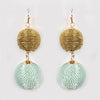 Ball Earrings Mint