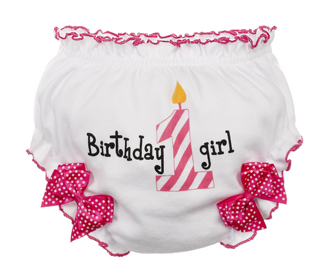 Girl Birthday Bloomers