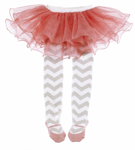 Chevron TuTu with tights