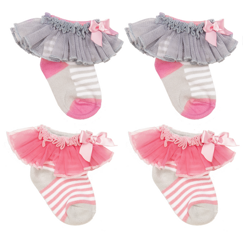 Baby Girl Ruffle Socks