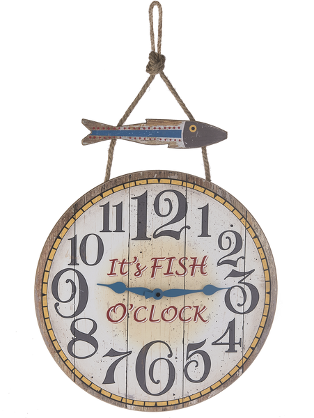 Fish O'Clock Wall Clock