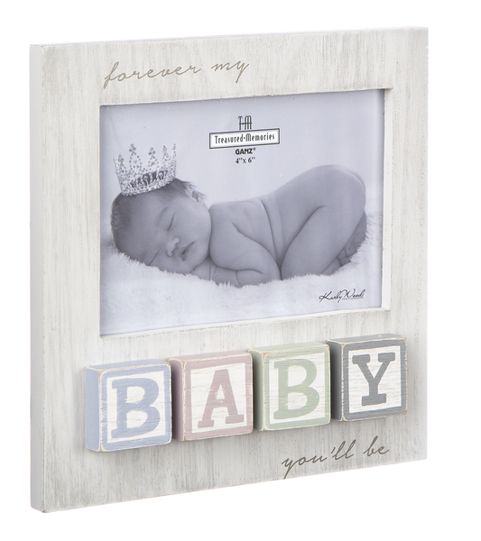 Baby Blocks - Forever My Baby Frame